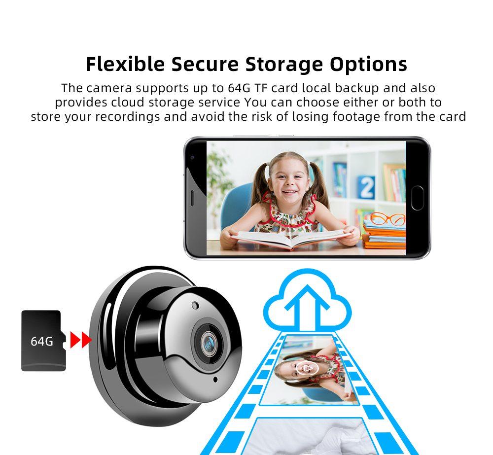 Mini 1080P IP Home Security Camera