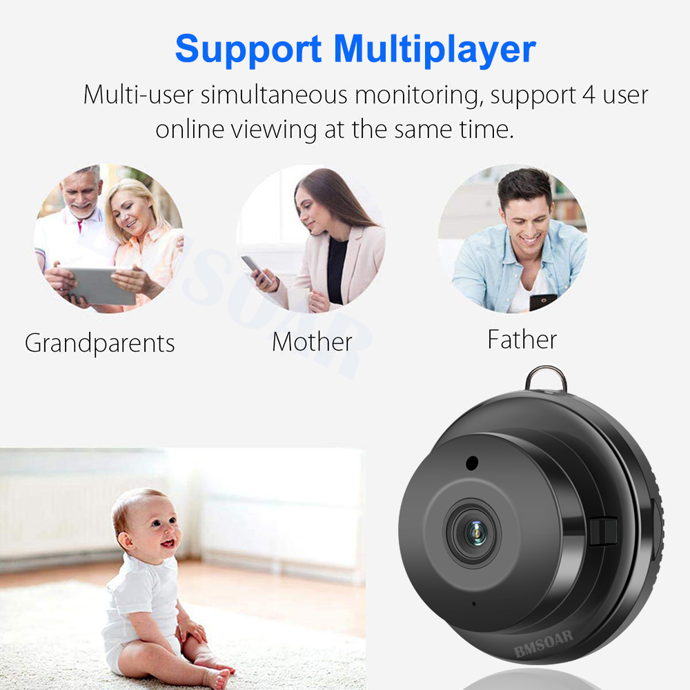 Mini WIFI 720P IP Camera