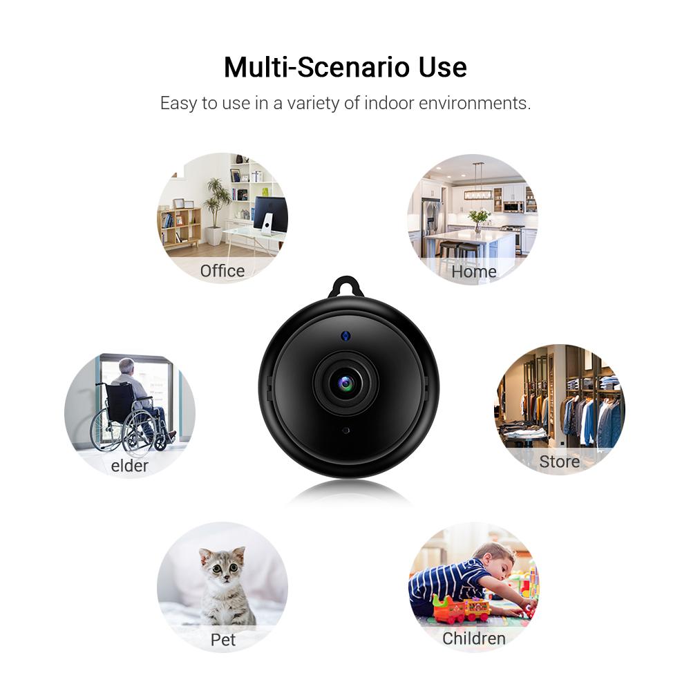 Mini Wifi IP HD 1080P Camera