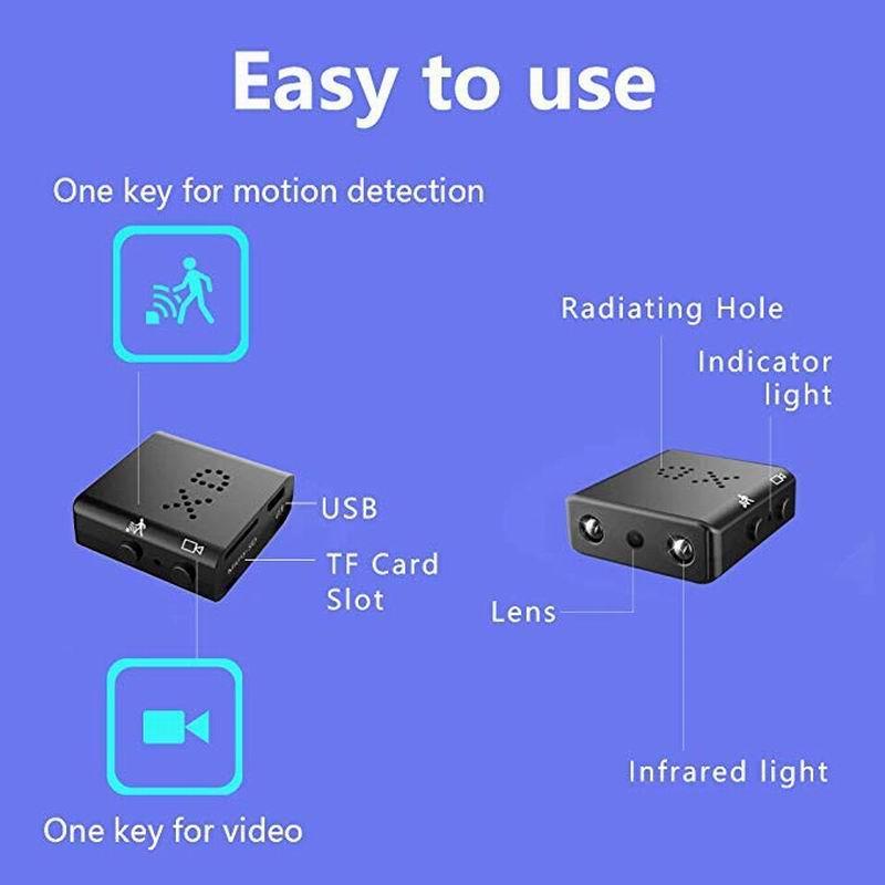Mini Full HD 1080P Sport Camcorder