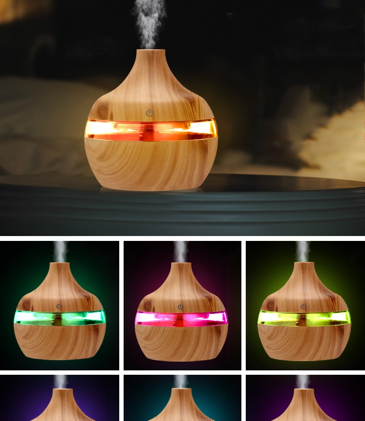 Wood Grain Air Humidifier