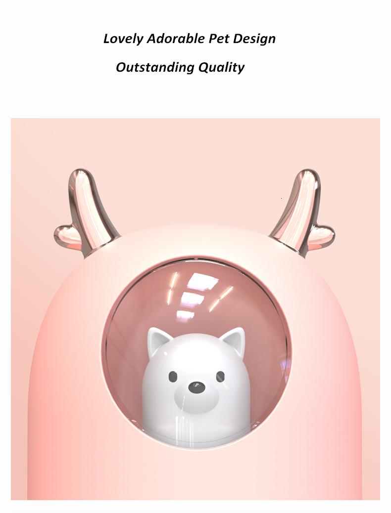 Cute Pet Ultrasonic Humidifier